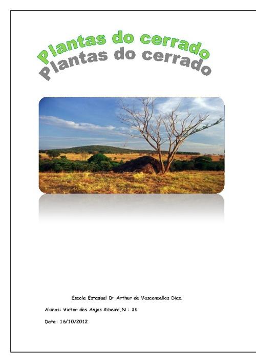 Plantas Do Cerrado