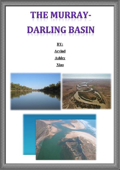 The Murray Darling Basin