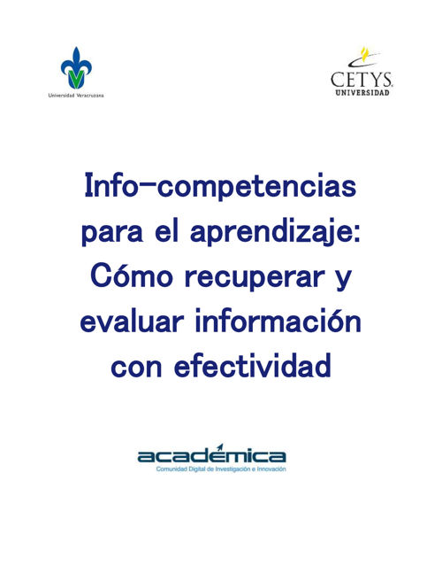 MOOC Info-competencias para el aprendizaje