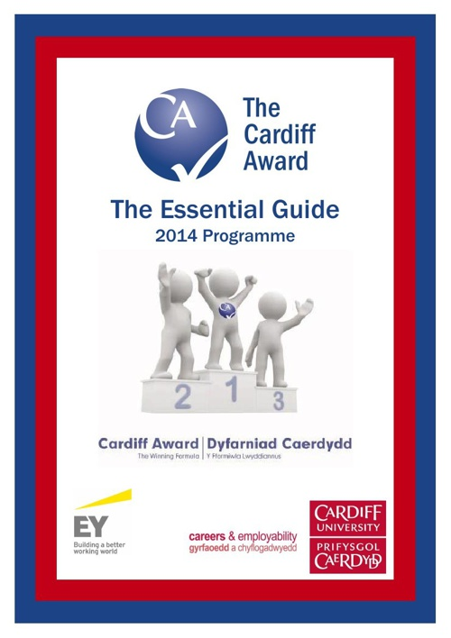 Cardiff Award Essential Guide 2014 Programme