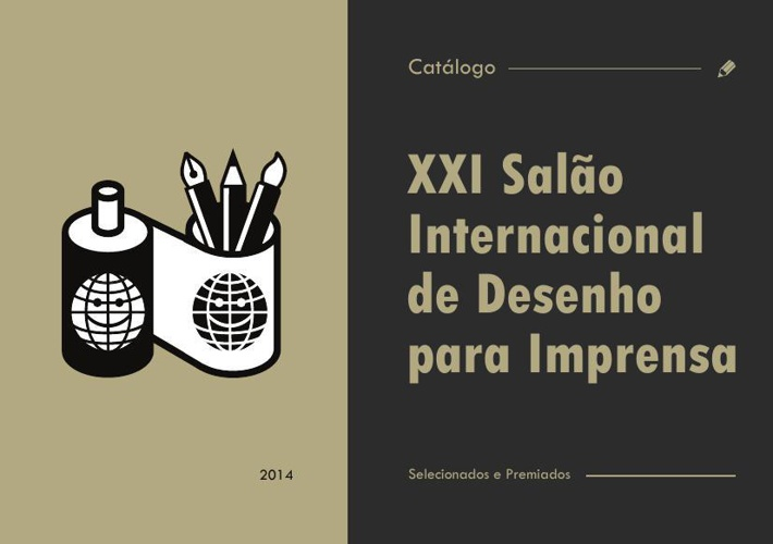 Catálogo do XXI Salão Internacional de Desenho para Imprensa
