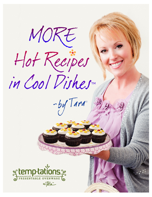 "New Temp-tations Cookbook- ""More Hot Recipes in Cool Dishes"""