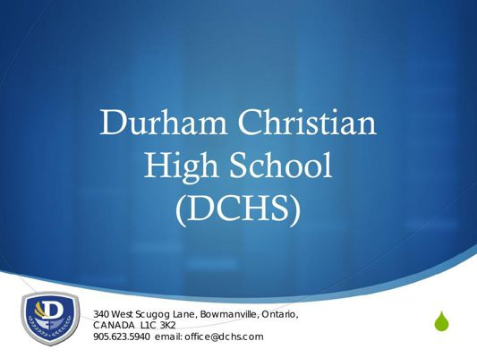 DCHS OVerview