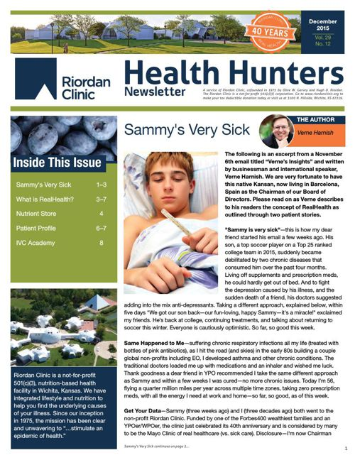 Health Hunters - Dec' 15