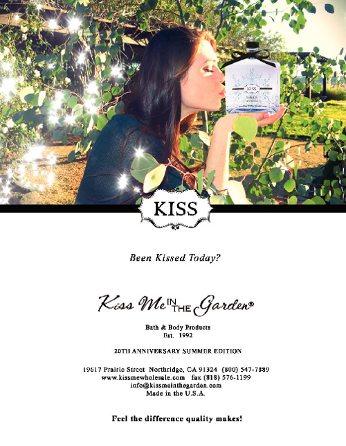 Kiss Me In The Garden 2012 Catalog (wholesale)