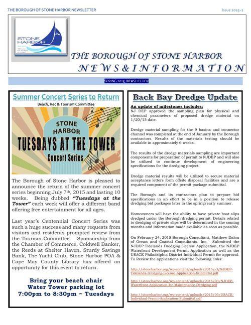 SHspringnewsletter2015