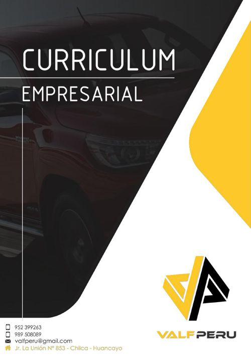 CURRICULUM EMPRESARIAL VALF PERU S.A.C.