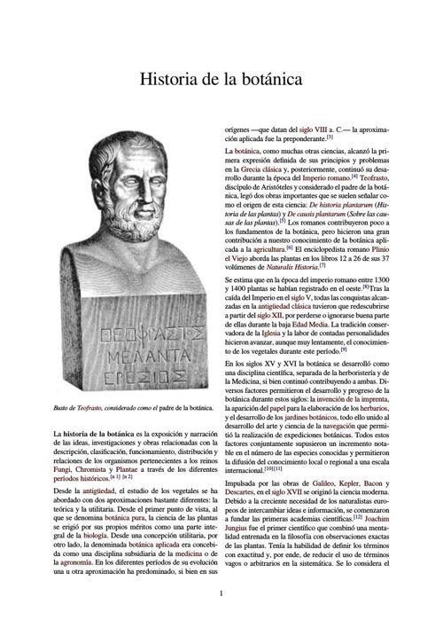 Historia de la botánica