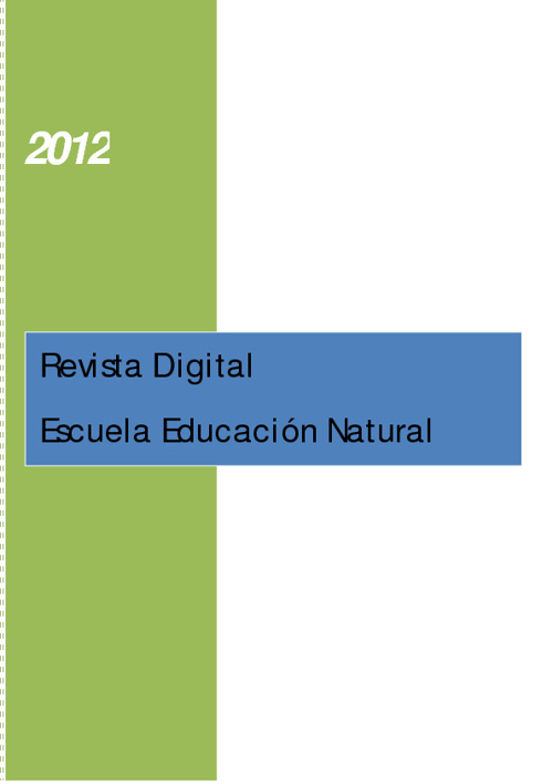Revista Digital - Escuela Educación Natural