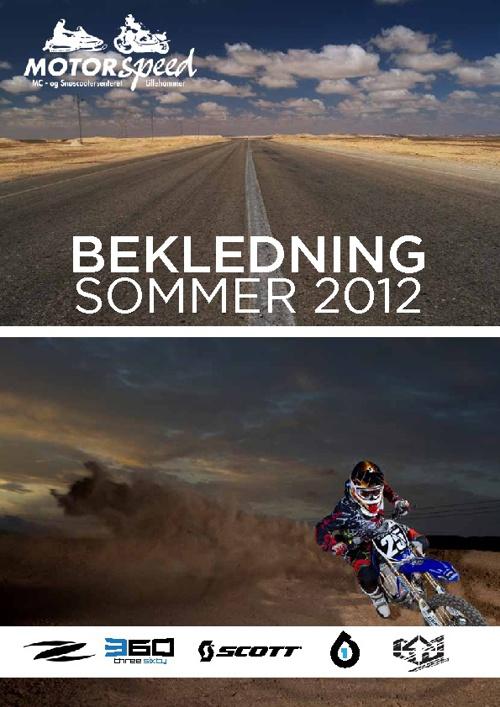 Motorspeed Bekledning - Sommer 2012