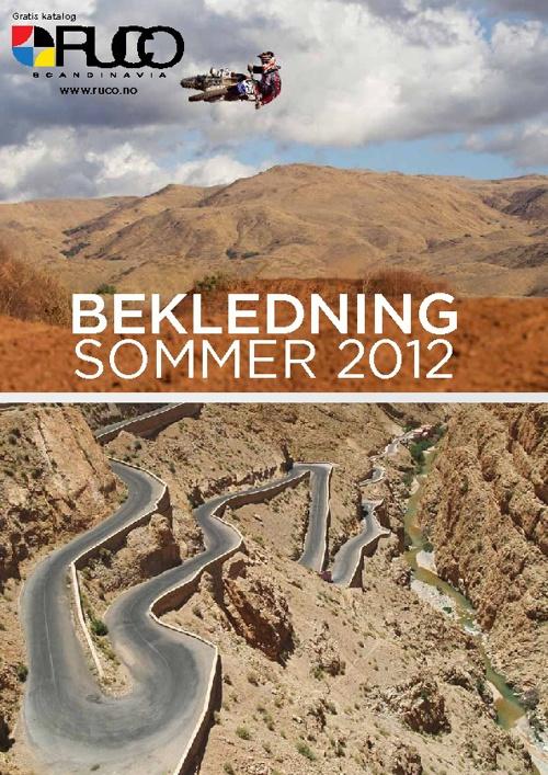 Copy of Ruco Bekledning - Sommer 2012