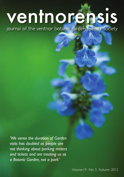 Ventnorensis - Volume 19  No.3 - Autumn 2012