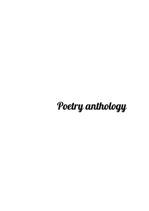 poetry poem