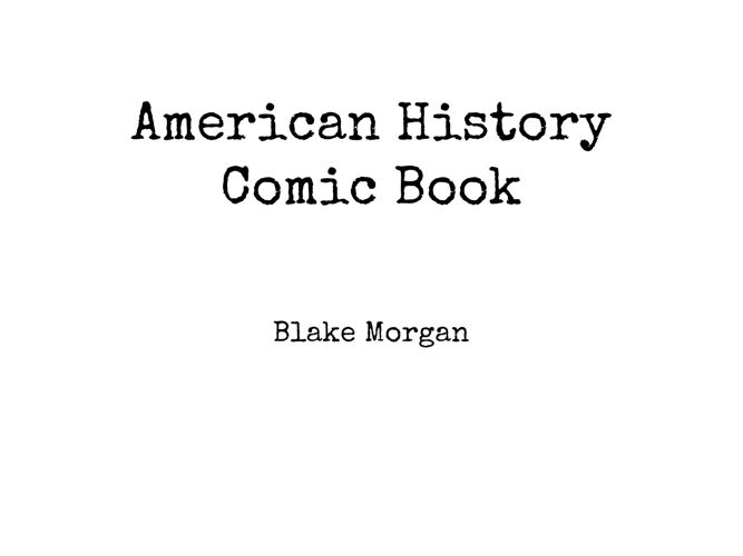 American History Comic Book