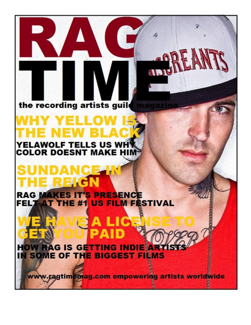 RAG TIME MAGAZINE
