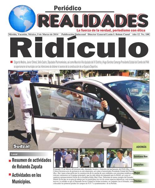 Periódico Realidades edición 188