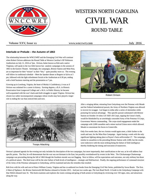 WNCCWRT 2016 July Newsletter