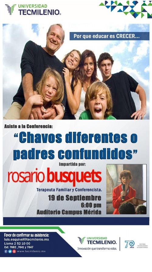 """Chavos diferentes o padres confundidos"""