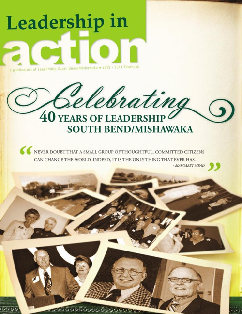 Leadership in ACTION annual magazine - current issue (July 2014)