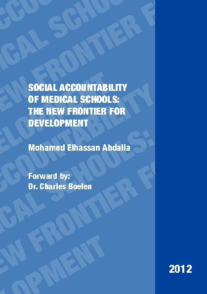 Social Accountability: A New Frontier for Development