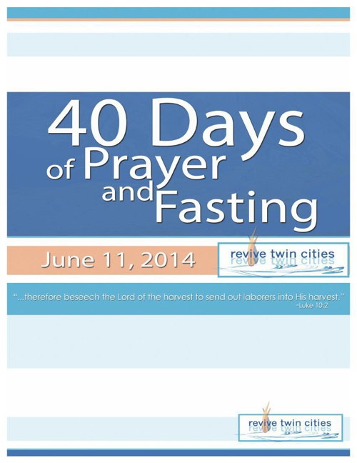 40 Days of Prayer and Fasting Devotional Booklet 3