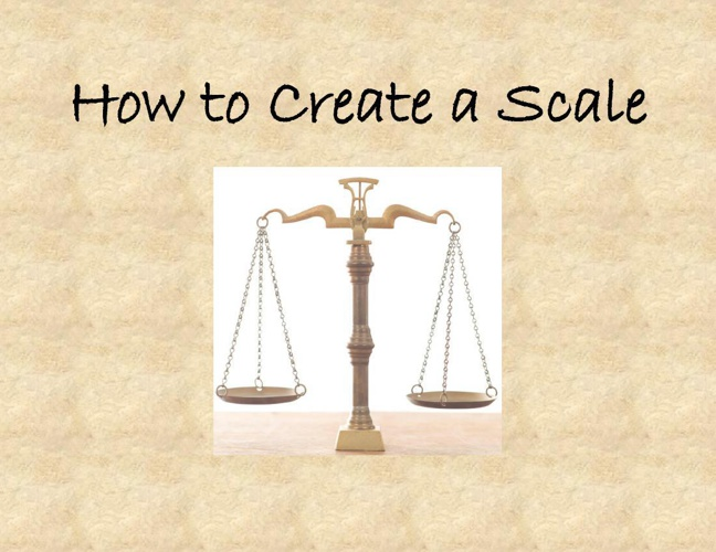 How to Create a Scale Flip book