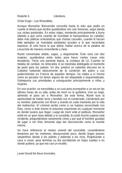 Reporte 2- Javier David De Nava 3ro A