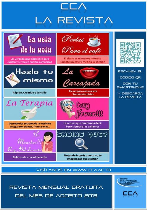 Revista CCA Edicion Agosto 2013
