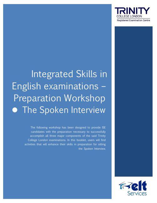ISE preparation workshop - The Spoken Interview