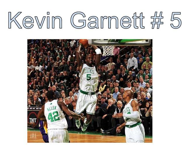 Kevin Garnets Life