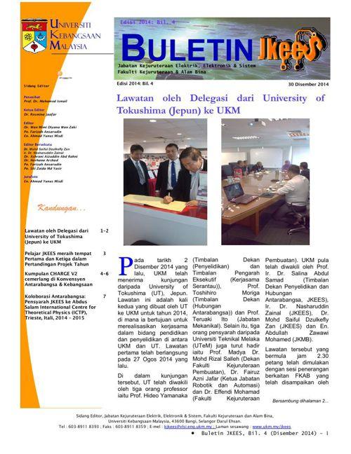 Buletin JKEES Edisi Disember 2014