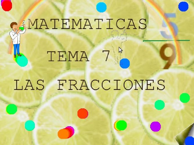 MATEMATICAS TEMA 7