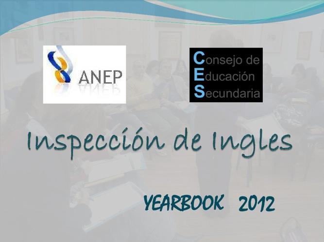INSPECCION INGLES ANUARIO 2012