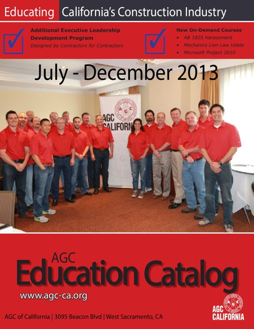 Education Catalog 2013