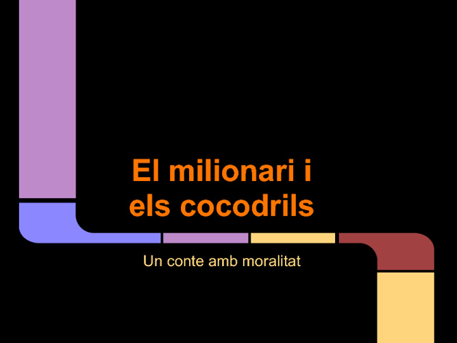 El milionari i els cocodrils
