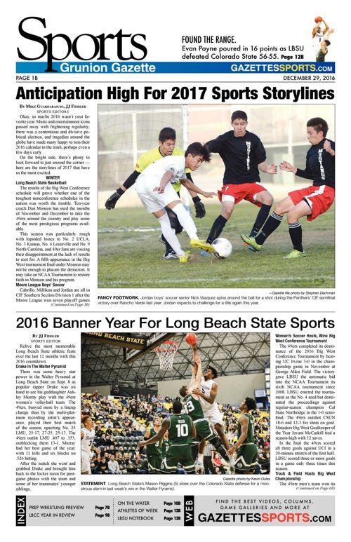 Gazette Sports     December 29, 2016