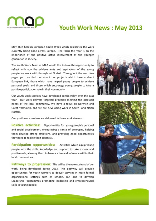 Youth Work News May 2013