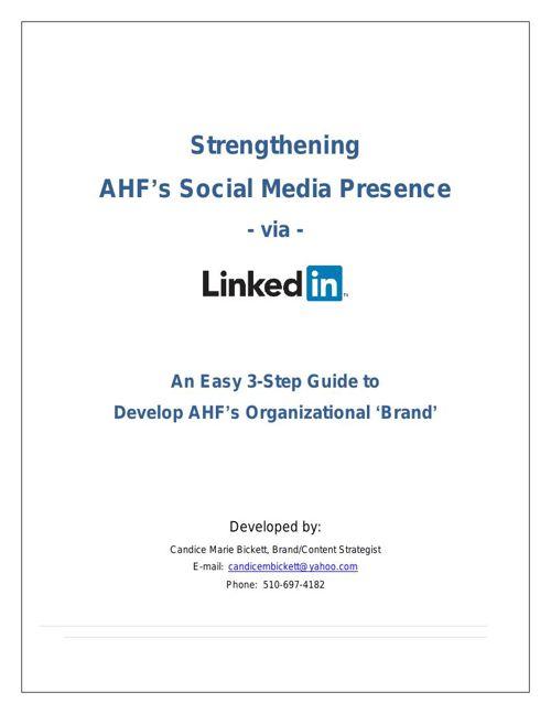 Leveraging LinkedIn for Professional Development   Organizationa