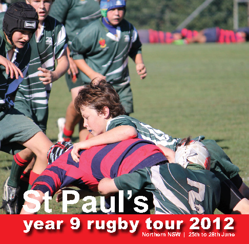 Year 9 Rugby Tour