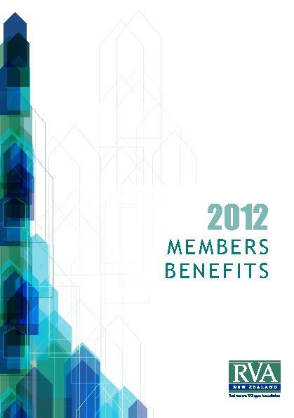 RVA membership Book