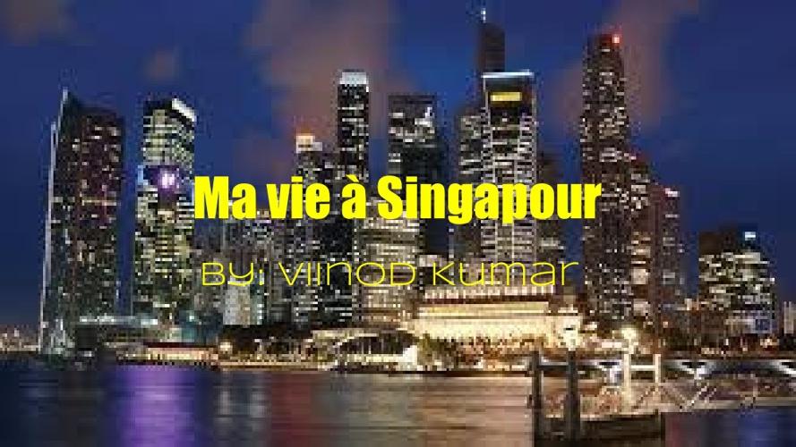 Ma vie à Singapour