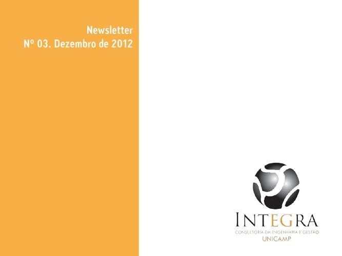Newsletter Externo - Ref. Dezembro 2012