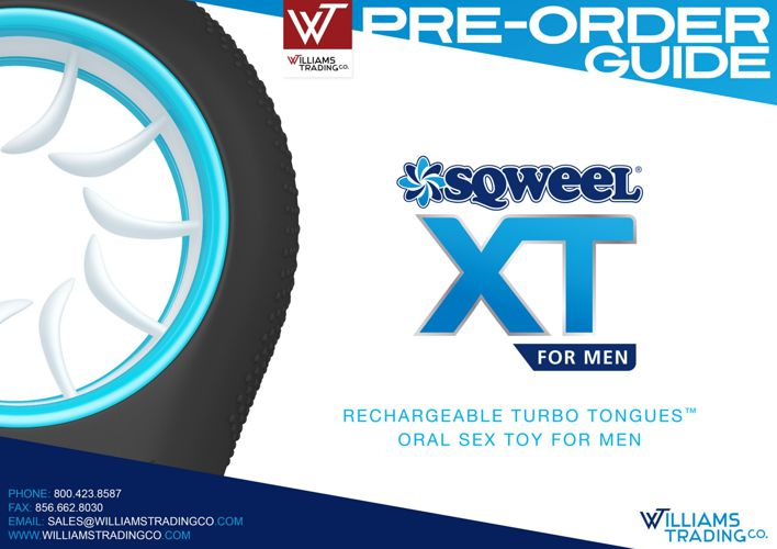 Sqweel XT Williams Trading Pre-Order Guide