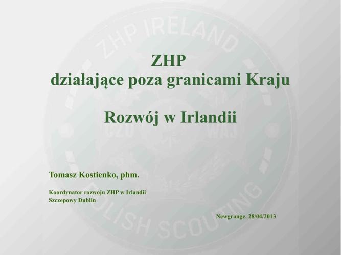 Zhp pgK Irlandia