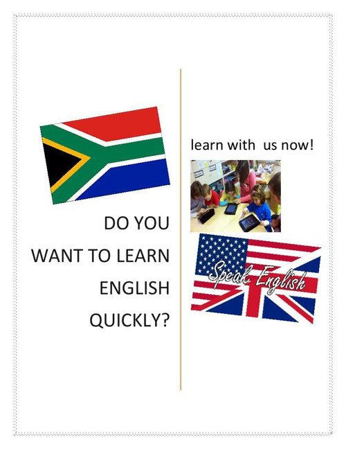 Do you want to learn English quickly