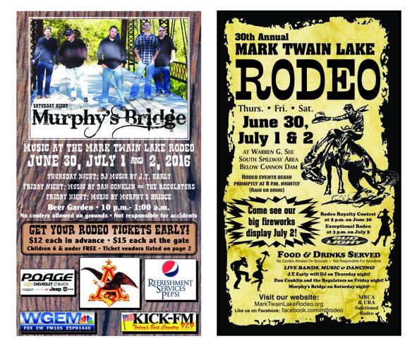 2016 Mark Twain Lake Rodeo