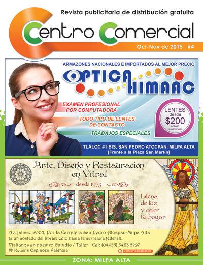 Revista Centro Comercial #4 Oct-Nov de 2015
