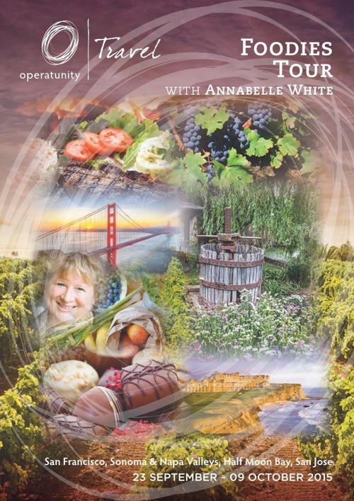 2015 Foodies Itinerary