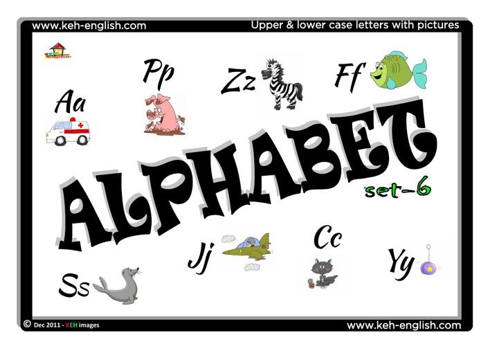 Alphabet - Set 6 (FREE)
