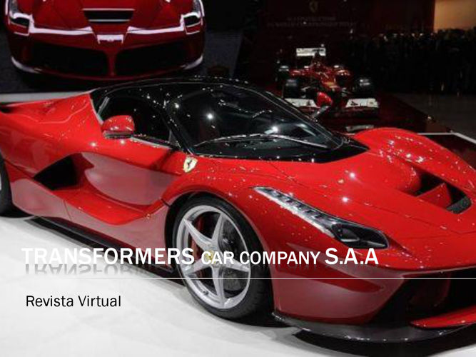 TRANSFORMERS car company SAA